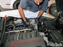 2005 Corvette C6 Z51 Procharger Install Alternator Removal