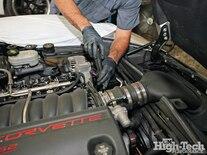 2005 Corvette C6 Z51 Procharger Install Intake Removal