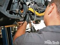 2005 Corvette C6 Z51 Procharger Install Subframe Removal