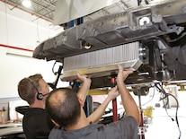 2005 Corvette C6 Z51 Procharger Install Intercooler Mounting