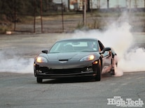 Gary Hillen 2009 Chevrolet Corvette Z06 Burnout