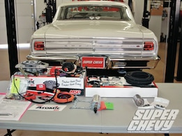 1965 Chevrolet Chevelle 502 MSD Atomic EFI Install - Atomic Blast