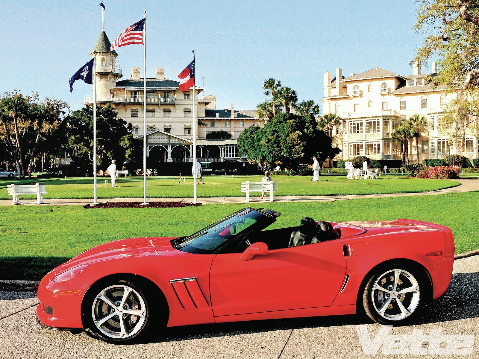 2012 Chevrolet Corvette Grand Sport Road Trip - Coastal Treasures