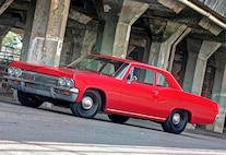 1965 Chevy Biscayne Front Three Quarters