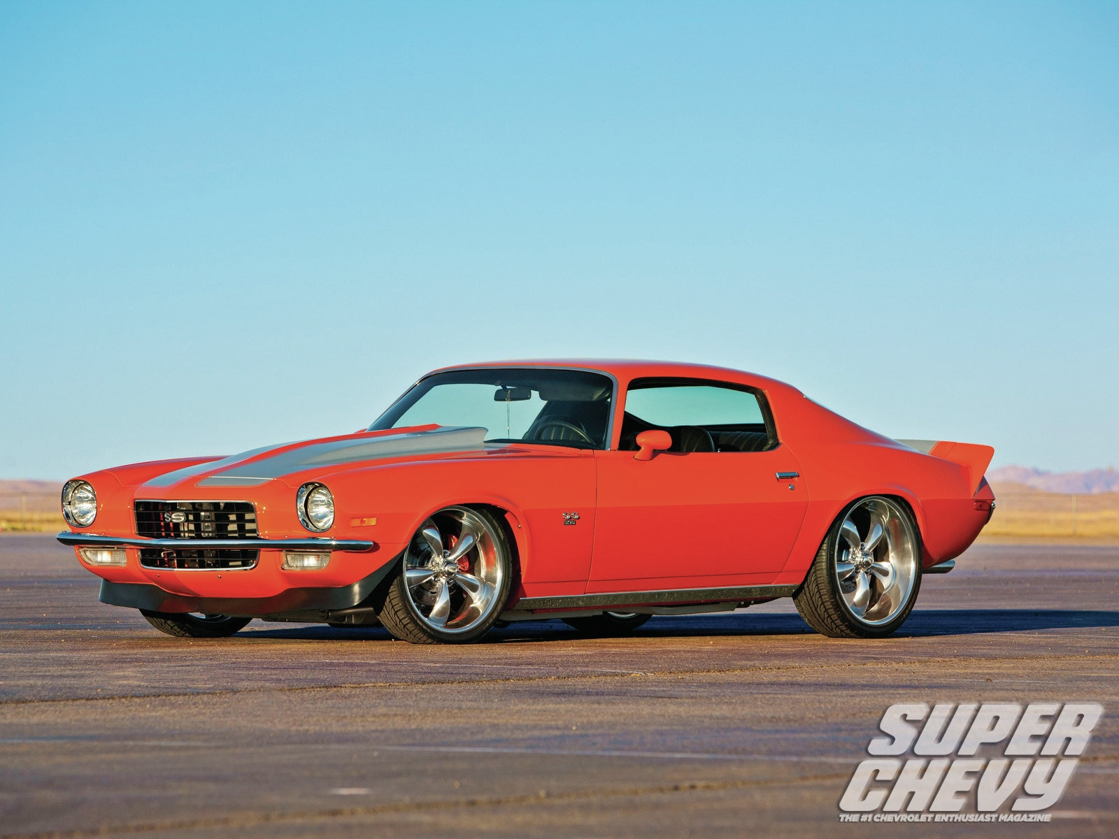 1972 Chevrolet Camaro Ss Side