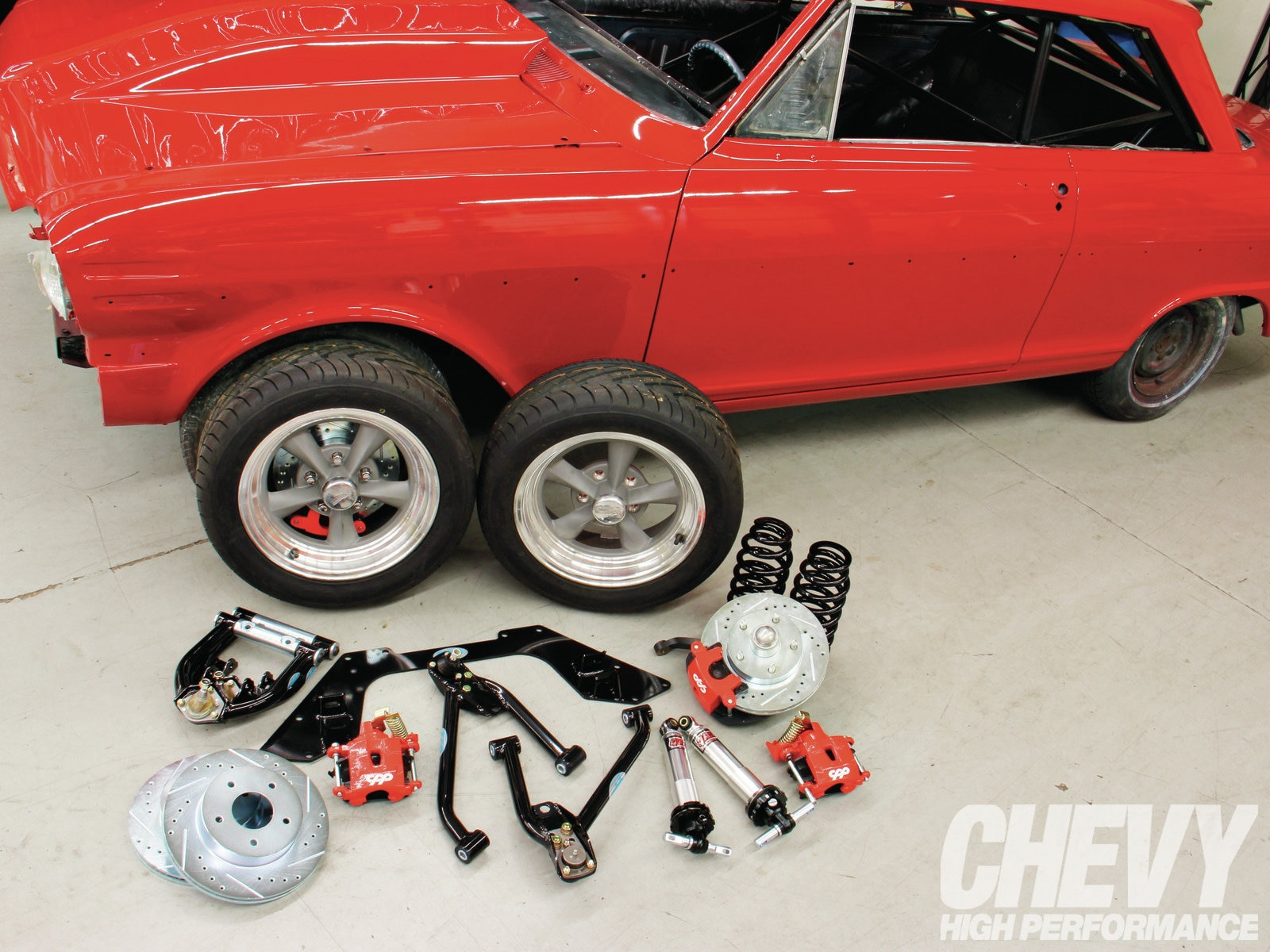 Cpp Mini Subframe Kit And Brake