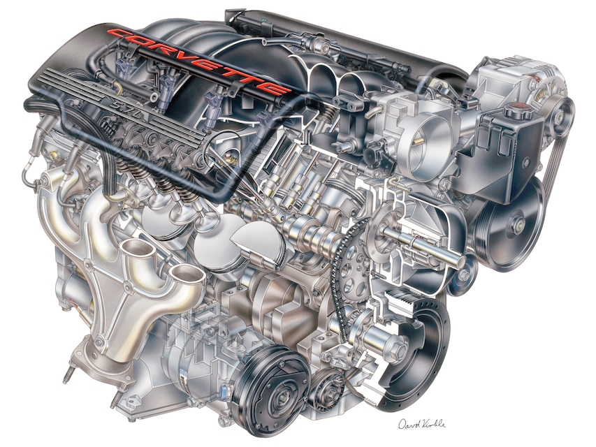 GM Gen V LT1 Engine Details - GM High-Tech Performance Magazine