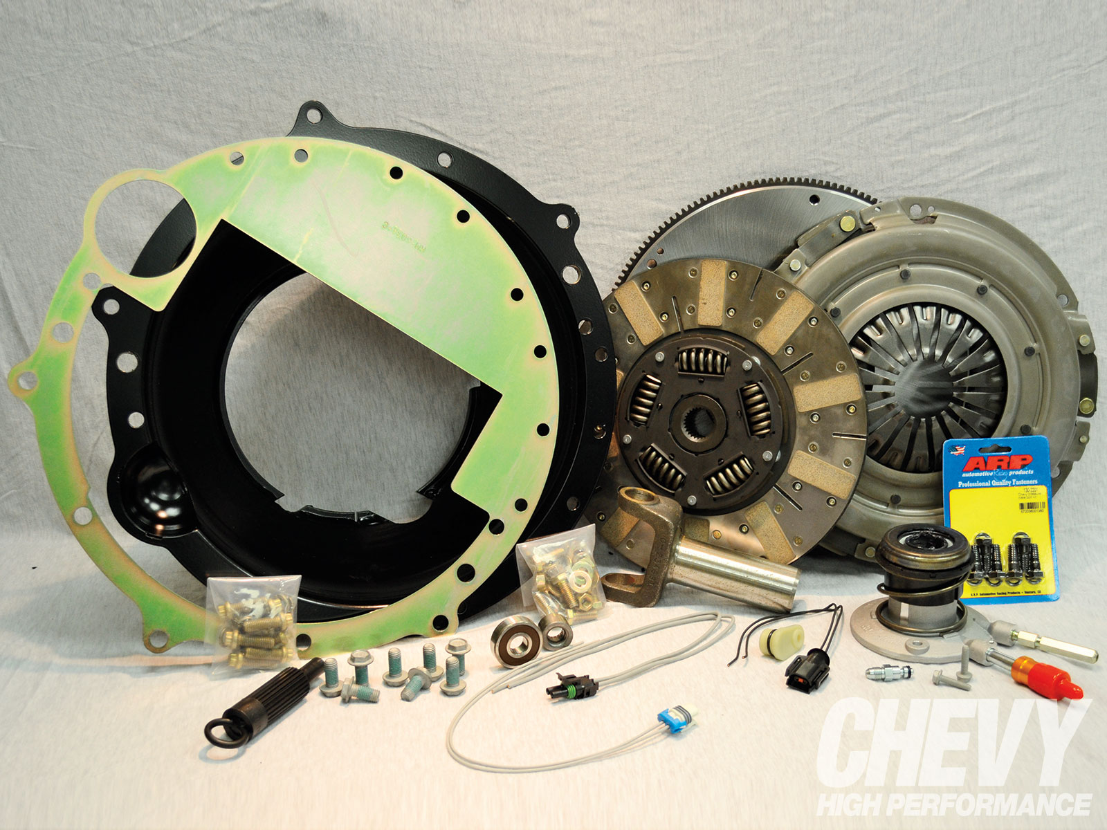 1304 Chpp 04 O Newly Recommended Products GM LS Eight Bolt Crank Tremec T56 Install Package