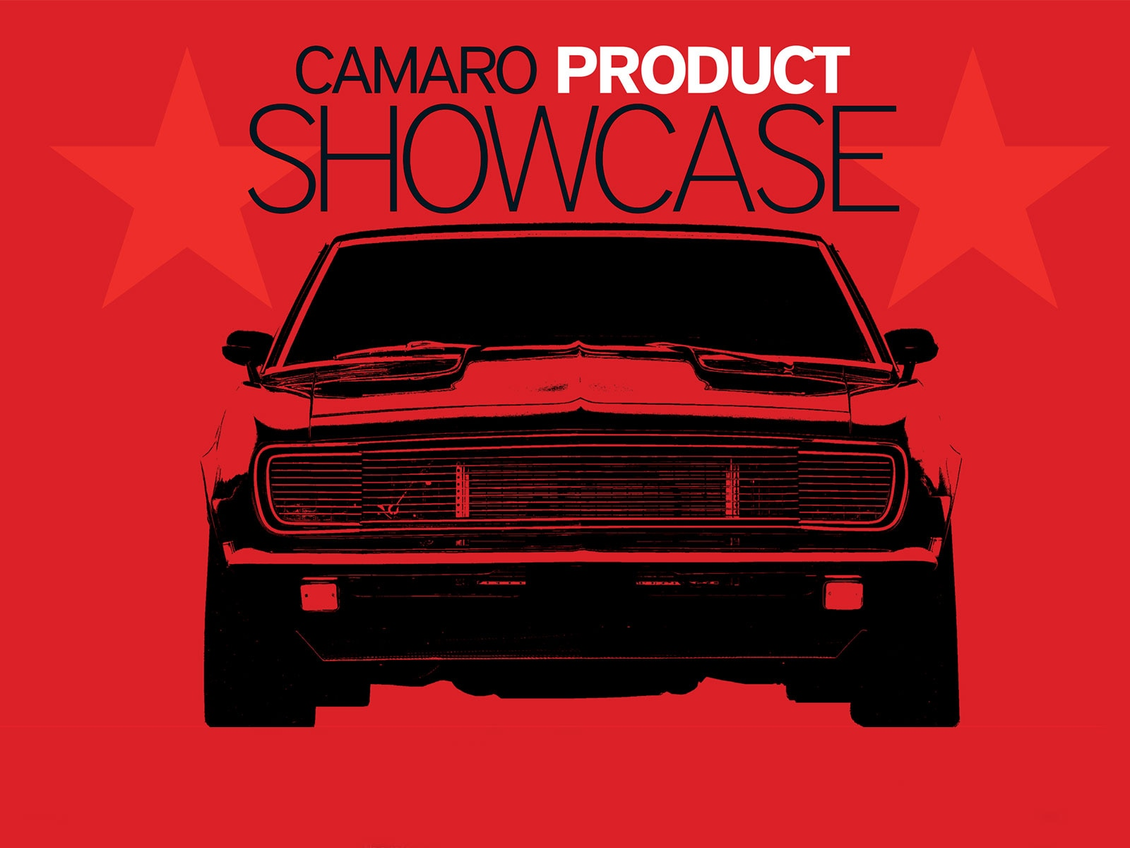 Chevy Camaro Product Showcase