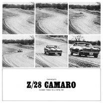 1968 Chevrolet Camaro Z28 Driving