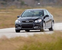 2014 Chevrolet Ss Sports Sedan Hennessey Hpe600 Grand Parkway Toll Road Houston Texas Front 3 Quarter Driver Side 3
