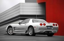 2003 Chevrolet Corvette Z06 Rear