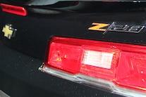 2014 Chevrolet Camaro Z28 Rear Trunk Logo