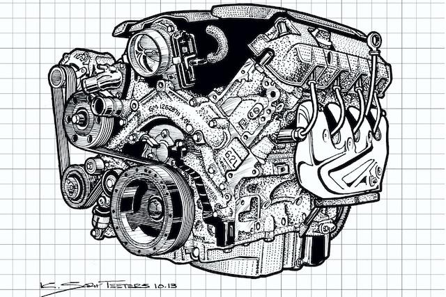 Engine Design Side