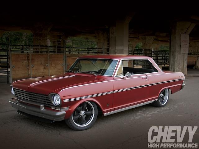 1963 Chevy Nova Front Three Quarter