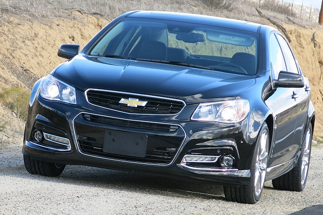 2014 Chevy Ss Front