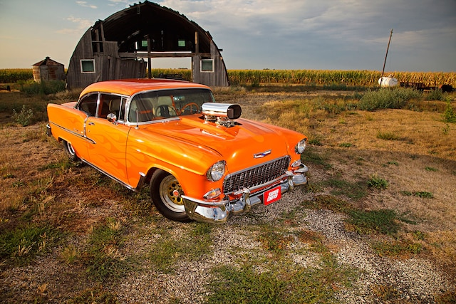 1955 Chevrolet Bel Air Front View