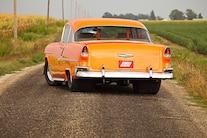 1955 Chevrolet Bel Air Rear View