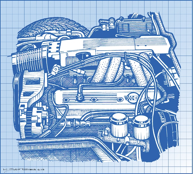 [DIAGRAM_1JK]  The L98 Engine -
