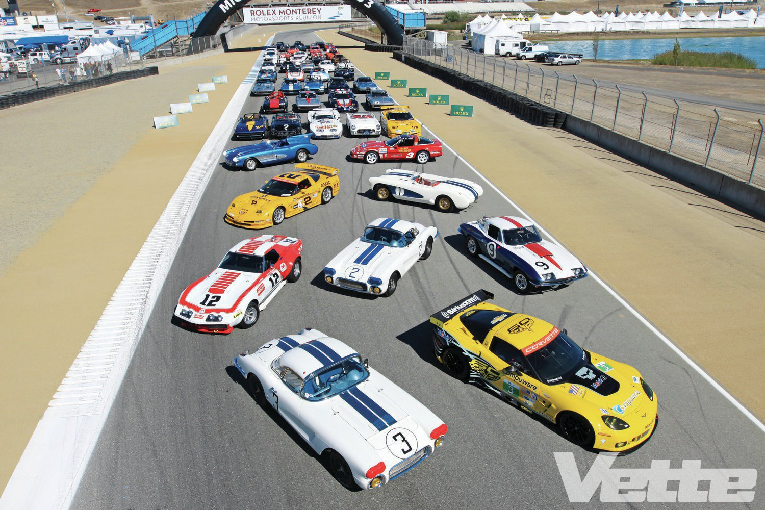 2013 Rolex Monterey Motorsports Reunion - Time Machines