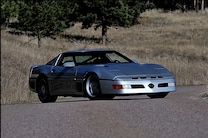 1988 Chevrolet Corvette Callaway Sledgehammer Front Passenger Side 3 Quarter