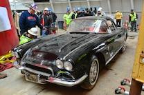 1962 Chevrolet Corvette Courtesy National Corvette Museum After Pulled Up