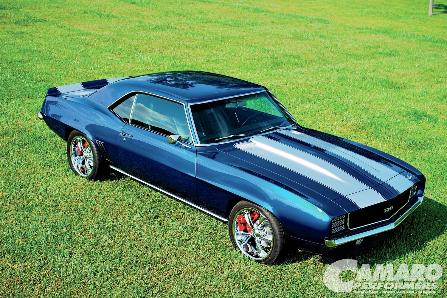 1969 Chevy Camaro Rs Front Three
