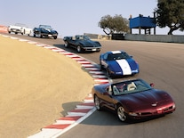 Chevy Corvette C5 Generations