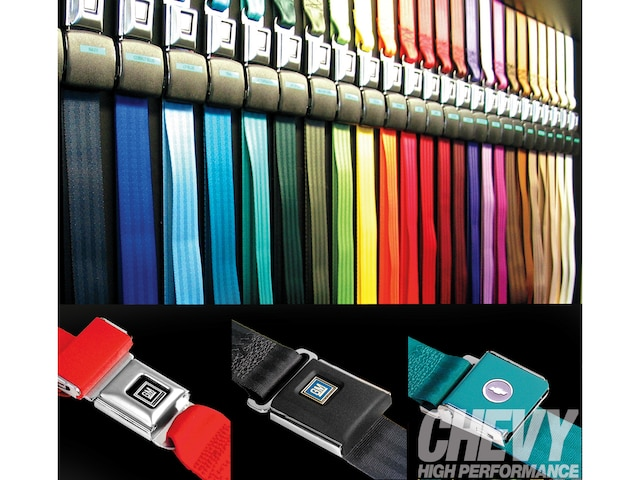 Julianos Interior Products Gm Seat Belts