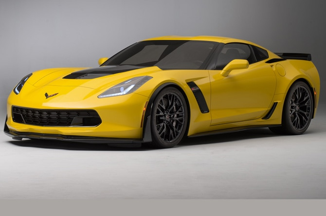2015 Chevrolet Corvette Z06 Front Side View Homepage