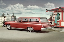 Chevrolet Impala Station Wagon Retro Vintage Photo