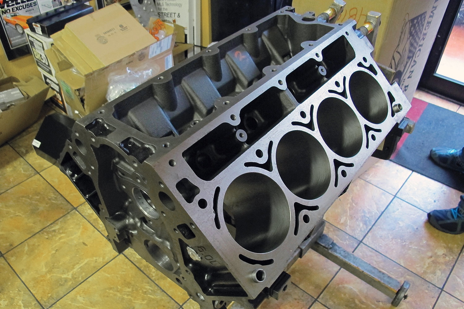 Truck Engine Block 12140