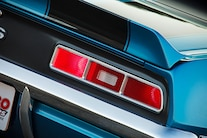 1969 Chevrolet Camaro Taillight Closeup