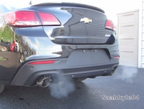 2014 Chevrolet Ss Sedan Rear Exhaust