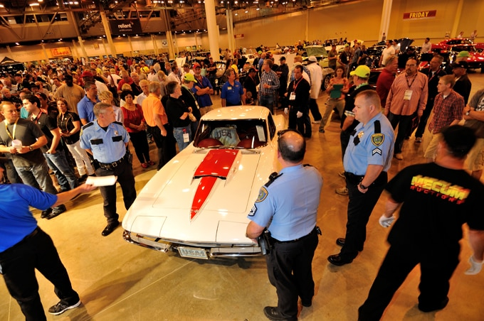 Mecum Top Seller 67 Corvette Before Auction