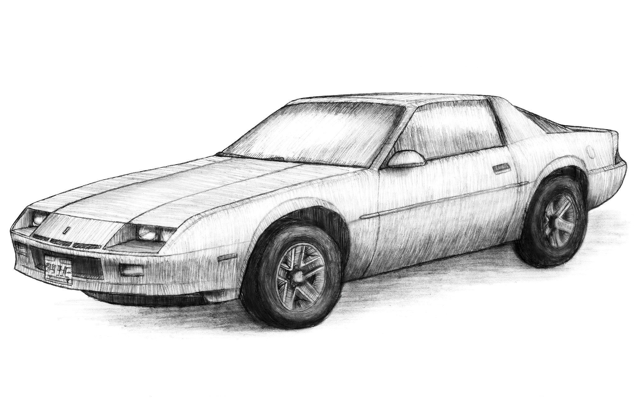 Camaro Sport Coupe Sketch
