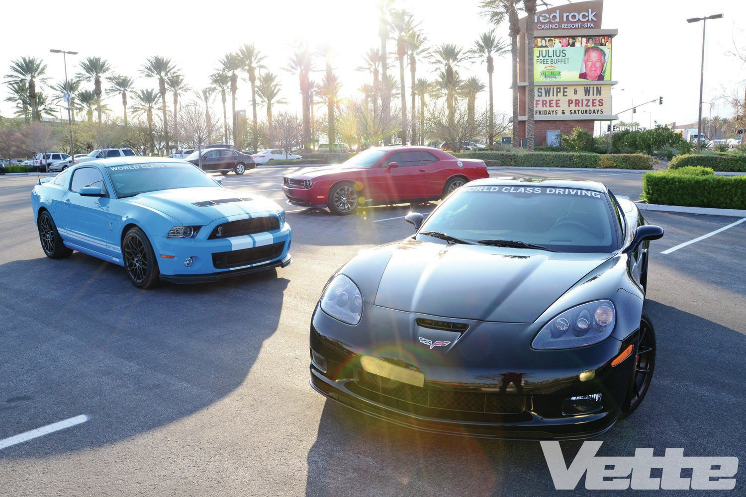 World Class Driving's American Muscle Car Experience
