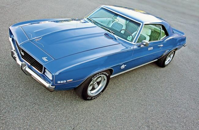 1969 Chevrolet Camaro Ss Rs Left Quarter Top