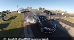2014 Chevy SS Hennessey HPE600 Burnout