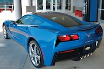 Chevrolet Corvette Laguna Blue Z51 Coupe