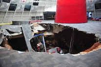 Corvette Museum Damage 07