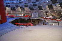 Corvette Museum Damage 09