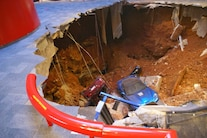 Corvette Museum Damage 13
