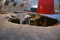 Corvette Museum Damage 14