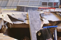 Corvette Museum Damage 17