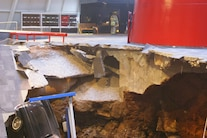 Corvette Museum Damage 18