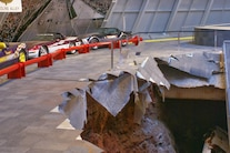 Corvette Museum Damage 28
