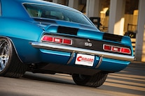 1969 Chevrolet Camaro Rear View Closeup