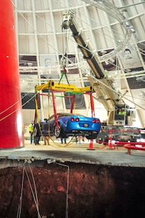 2009 Chevrolet Corvette ZR1 Rescue From Corvette Sinkhole 2