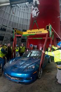 2009 Chevrolet Corvette ZR1 Rescue From Corvette Sinkhole 4